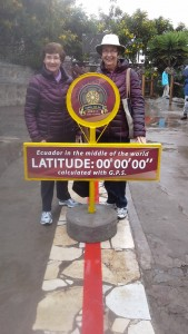 Thorneycrofts at the equator