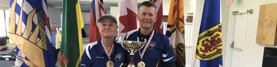 Slide 268 Nationals Gold in Mixed Pairs